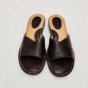 BOC Born Concept Leather Sandals Size 10